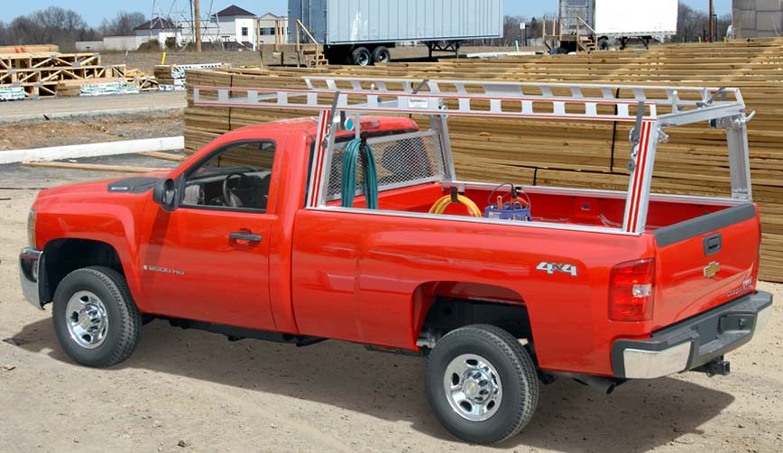 Contractor Rig ladder rack for Pick up Trucks