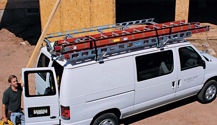 Van Ladder Rack - Cintractor Rig