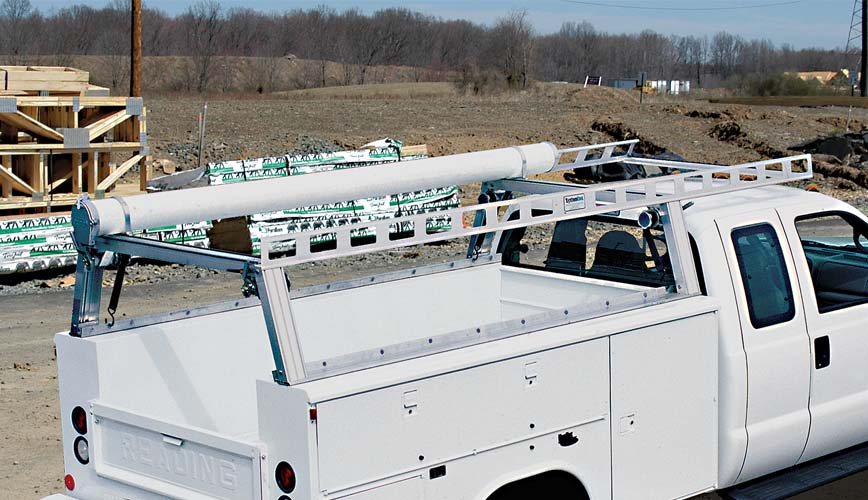 Service Body / Utility Body Ladder Racks / Truck Racks - Contractor Rig