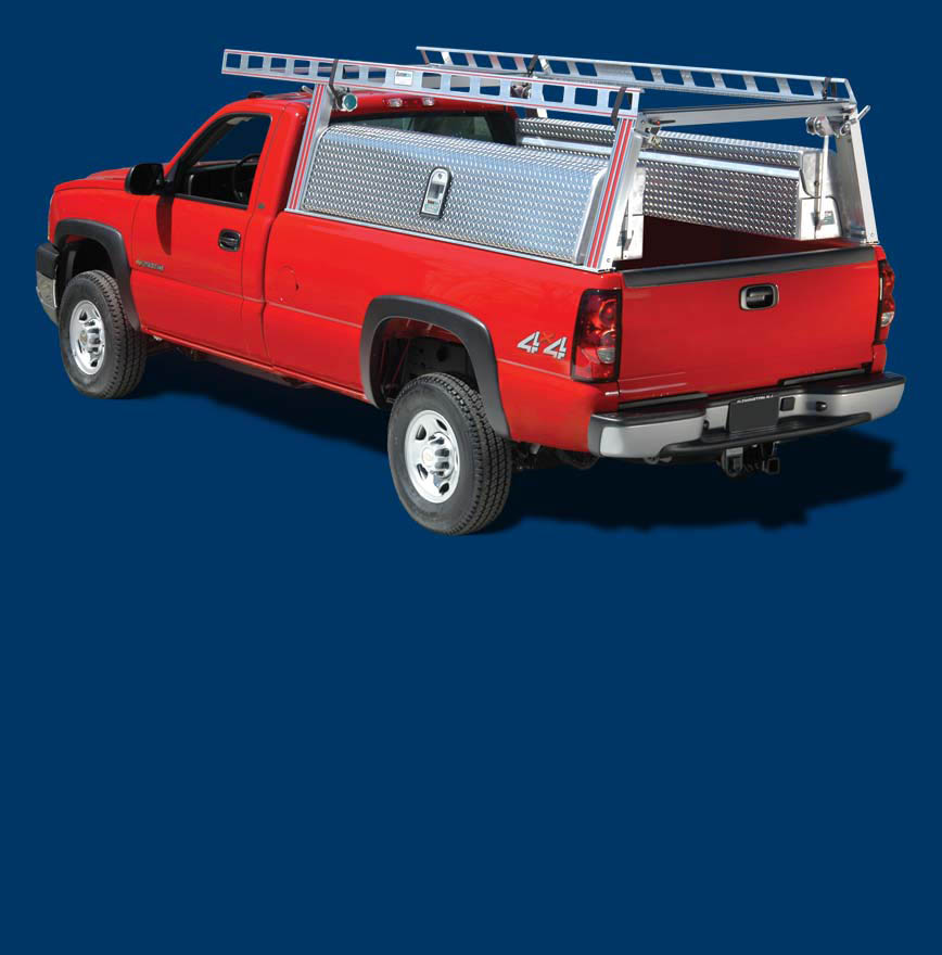 About Full Access Truck Tool Bo System One Aluminum Ladder Racks Van