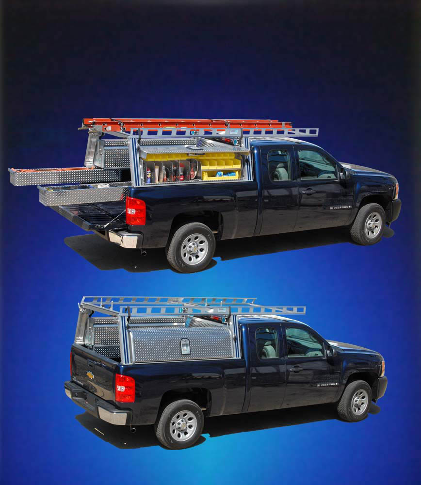Stowaway Drawers Overview System One Aluminum Ladder