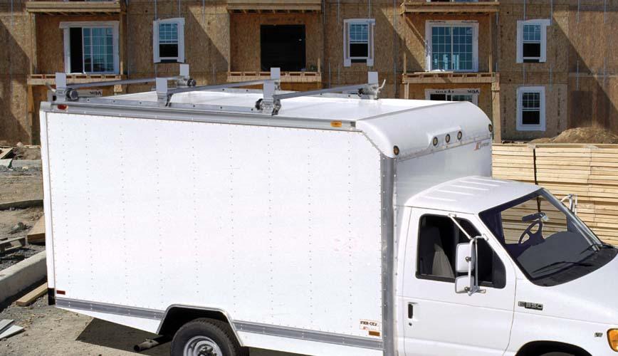 Enclosed Body Ladder Racks Utility Rig For Enclosed Body