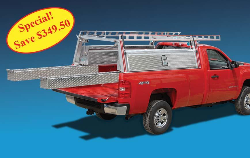 System One Aluminum Ladder Racks Truck Racks Van Racks